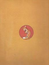 Verso de Les fables de La Fontaine (Rabier) -a- Fables de La Fontaine (1951)