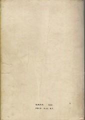 Verso de Strange -Rec011- Album N°11 (du n°32 au n°34)