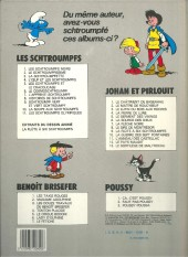 Verso de Johan et Pirlouit -6d84- La source des Dieux