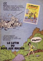 Verso de Johan et Pirlouit -2- Le maître de Roucybeuf