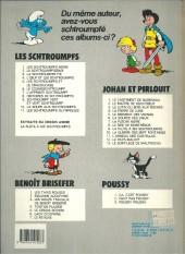 Verso de Johan et Pirlouit -9c1986- La flûte à six schtroumpfs