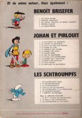 Verso de Johan et Pirlouit -6Pub- La Source des dieux