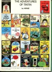 Verso de Tintin (The Adventures of) -18e07- The Calculus Affair