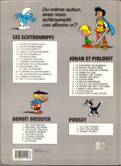 Verso de Les schtroumpfs -12a93- Le bébé schtroumpf