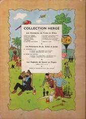 Verso de Tintin (Historique) -16B10- Objectif lune