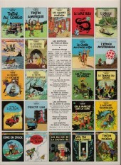 Verso de Tintin (Historique) -14C6- Le temple du soleil
