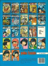 Verso de Yoko Tsuno -5b85- Message pour l'éternité