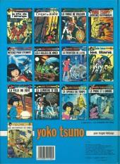 Verso de Yoko Tsuno -7b84- La frontière de la vie