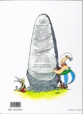 Verso de Astérix (Hachette) -4a03- Astérix gladiateur