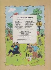 Verso de Tintin (Historique) -3B27bis- Tintin en Amérique