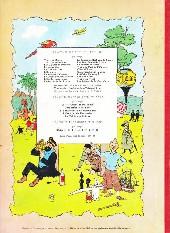 Verso de Tintin (Historique) -17B35- On a marché sur la lune