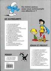 Verso de Les schtroumpfs -6c03- Le cosmoschtroumpf