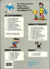 Verso de Les schtroumpfs -8b86- Histoires de schtroumpfs