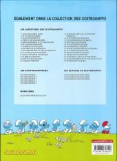 Verso de Les schtroumpfs -24Ind- Salade de Schtroumpfs