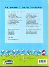 Verso de Les schtroumpfs -27a11- Schtroumpf les bains