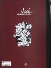 Verso de (AUT) Walthéry -41TL- Walthéry Sketchbook