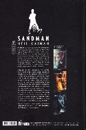 Verso de Sandman (Urban Comics) -2- Volume II