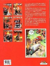 Verso de Les pompiers -4a2006- Potes au feu
