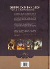 Verso de Sherlock Holmes & le Necronomicon -2- La Nuit sur le Monde