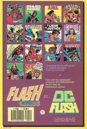 Verso de DC Flash -HS1- Message posthume