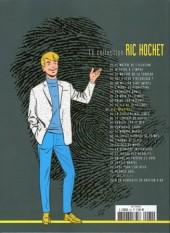 Verso de Ric Hochet - La collection (Hachette) -62- B.D. meurtres