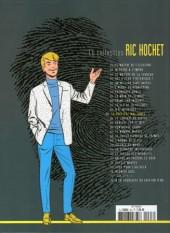 Verso de Ric Hochet - La collection (Hachette) -63- La Sorcière... ...mal aimée