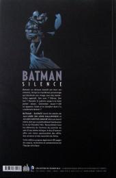 Verso de Batman : Silence -INT a13- Silence