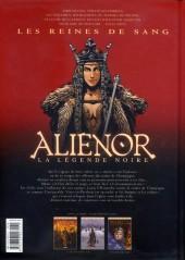 Verso de Les reines de sang - Aliénor, la Légende noire -2- Volume 2/3