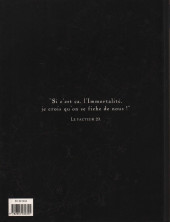 Verso de Monsieur Mardi-Gras Descendres -INT- Edition intégrale : volume I