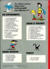Verso de Les schtroumpfs -5b76- Les Schtroumpfs et le Cracoucass