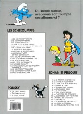 Verso de Les schtroumpfs -10a1996- La soupe aux schtroumpfs