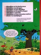 Verso de Sibylline -4a- Sibylline et le petit cirque