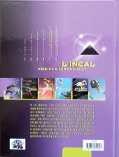 Verso de L'incal - Une aventure de John Difool -3c98- Ce qui est en bas