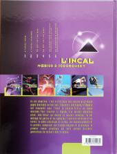 Verso de L'incal - Une aventure de John Difool -6b1999- La cinquième essence : La planète Difool