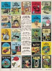 Verso de Tintin (Historique) -20C3- Tintin au Tibet