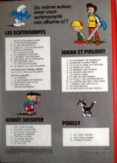 Verso de Johan et Pirlouit -7e80- La flèche noire