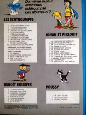 Verso de Johan et Pirlouit -10c80- La guerre des 7 fontaines