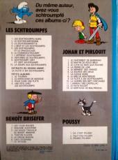 Verso de Johan et Pirlouit -12b1979- Le pays maudit