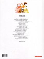 Verso de Garfield -56- Les amis, c'est pour la vie