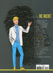 Verso de Ric Hochet - La collection (Hachette) -64- Le contrat du siècle