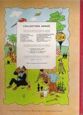 Verso de Tintin (Historique) -17B20- On a marché sur la Lune
