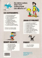 Verso de Les schtroumpfs -6b86- Le cosmoschtroumpf