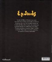Verso de (AUT) Jacobs, Edgar P. -3b13- Un opéra de papier - Les mémoires de Blake et Mortimer