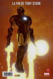Verso de Invincible Iron Man (The) (Marvel Deluxe) -2- Dislocation
