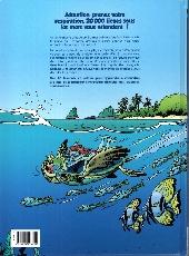 Verso de Les animaux marins en bande dessinée - Tome 1