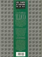 Verso de La famille Illico - Tome HS3