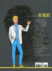 Verso de Ric Hochet - La collection (Hachette) -65- Panique sur le Web