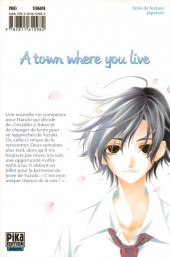 Verso de A town where you live -10- Tome 10
