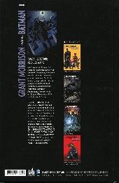 Verso de Batman (Grant Morrison présente) -5- Le retour de Bruce Wayne