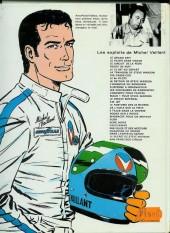 Verso de Michel Vaillant -14b1976'- Mach 1 pour Steve Warson